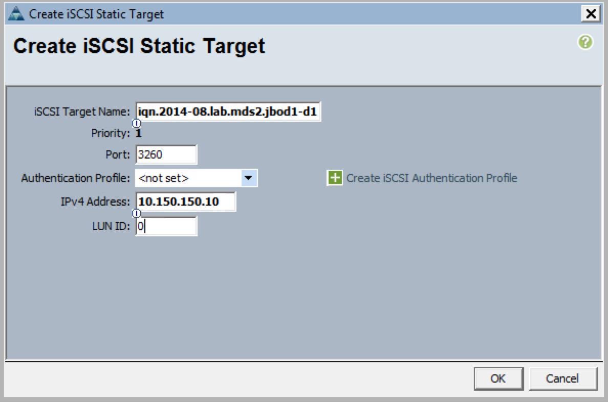 UCS Boot from iSCSI - Overlaid